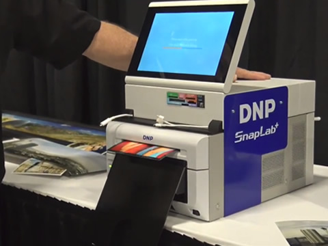 DNP Photo Booth Printers from Photo Booth Expo 2017 Disc Jockey News